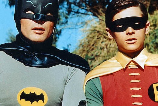 Adam West as Batman, Burt Ward as Robin