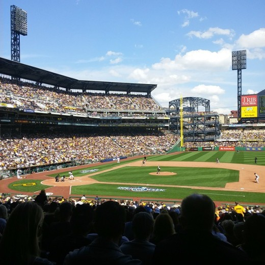 Pirates home opener, PNC Park