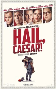 """""""Hail, Caesar!"""" poster"""