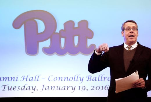 University of Pittsburgh Athletic Director Scott Barnes