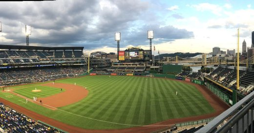 Empty seats at PNC Park